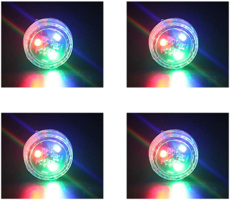 5 Lights Color 4PCS Universal Wireless Car Opening Door Singal Lights LED Safety Lamps Styling Strobe Magnetic Wireless Flashing Anti Collision Signal Auto On//Off with 3 Flashing Modes