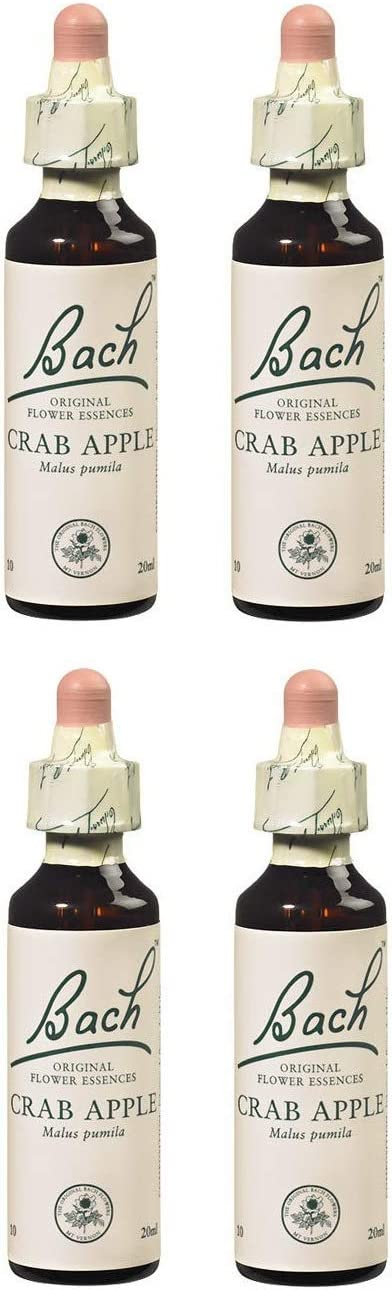 (4 Pack) - Dr Bach - Crab Apple Bach Flower Remedy | 10ml | 4 Pack Bundle