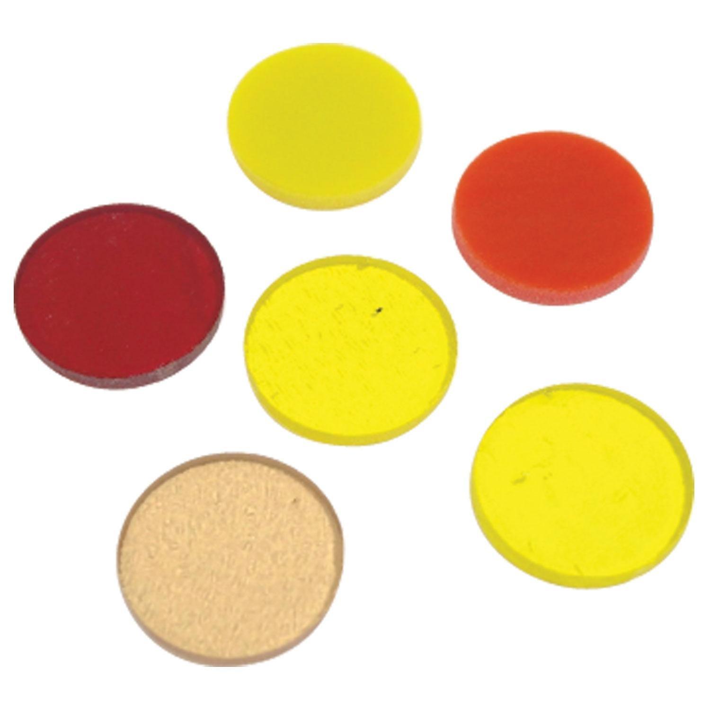 Amazon.com: Fuseworks Warm Colors Circles 6 Piece Assortment - 90 COE: Arts, Crafts & Sewing
