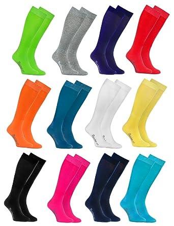 niedrigerer Preis mit schnüren in Preis bleibt stabil Rainbow Socks - Damen Herren Bunte Baumwolle Kniestrümpfe