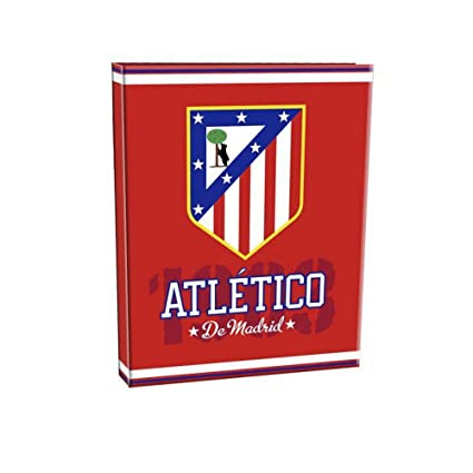 Atletico De Madrid - Archivador 4 anillas - atletico de madrid (10/5)