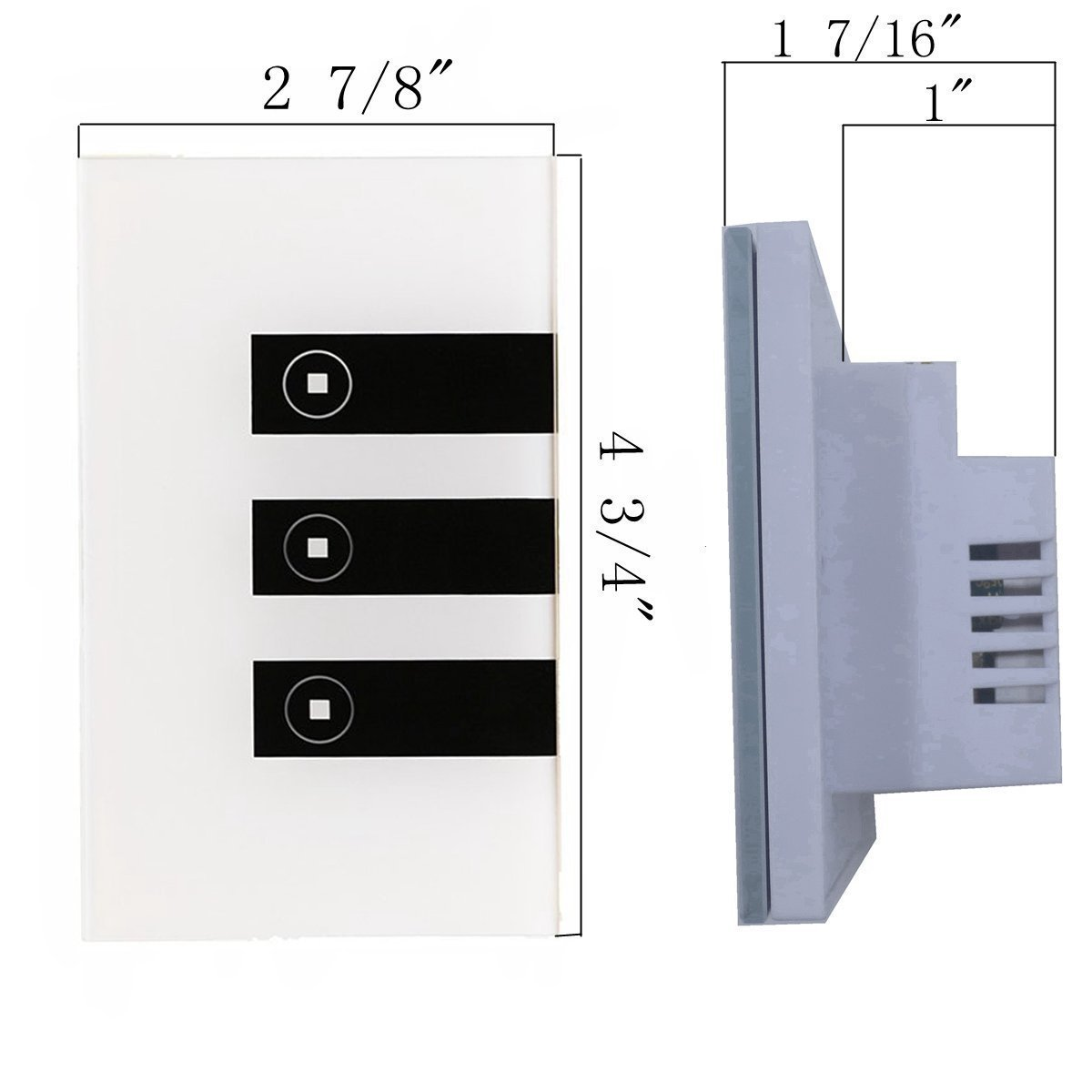 Smart SwitchWoocon Wifi Light Switch That Compatible with Alexa and