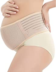 Maternity Belt, Belly Band for Pregnancy, Breathable Comfortable Back and Pelvic Support - Adjustable Belly Band for Pregnanc