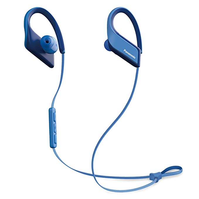 Panasonic Wings Ultra-Light Wireless Bluetooth Sport Earphones Blue (RP-BTS35-A) Bluetooth Headsets at amazon