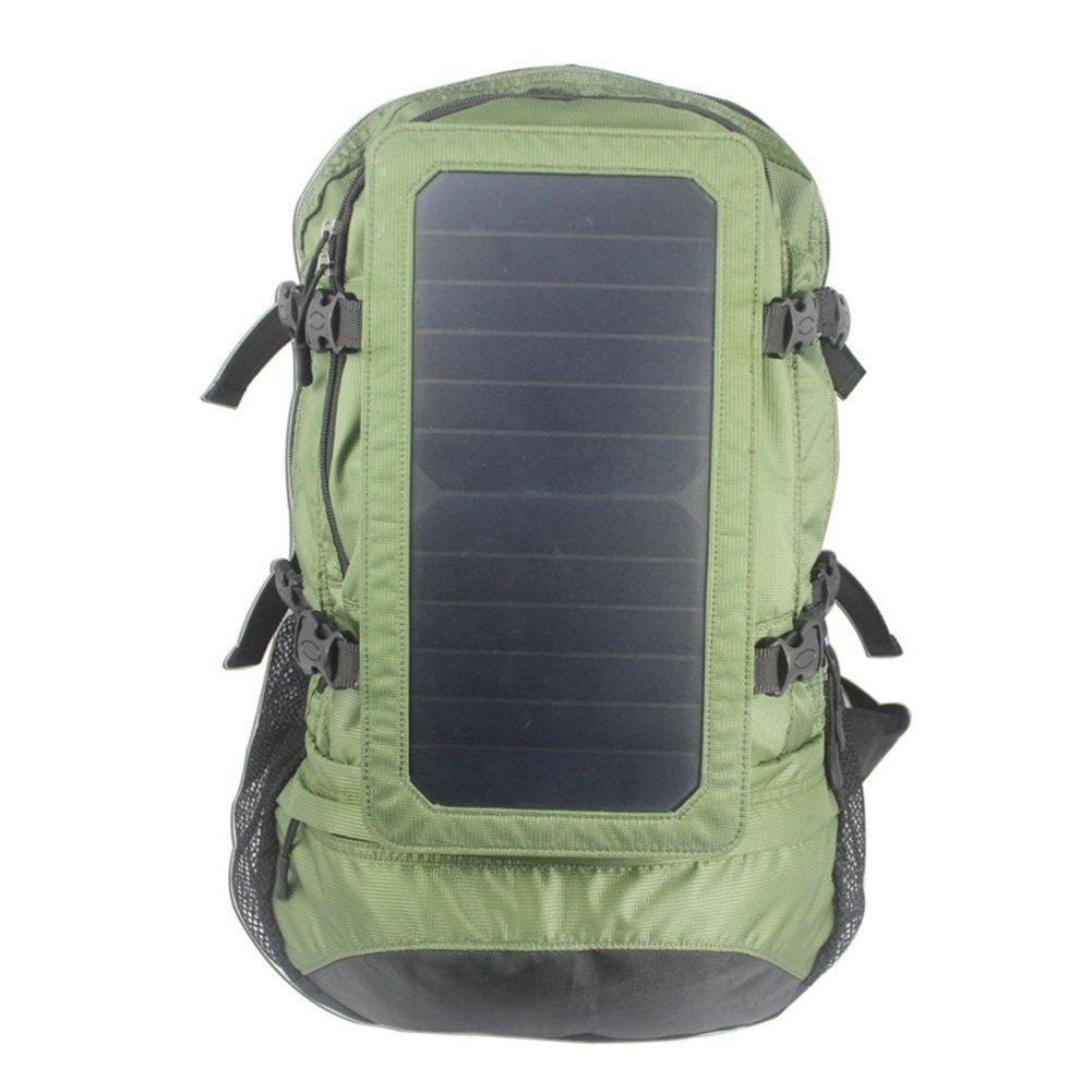 Camping Familie Solar angetriebene Rucksack mit 6,5 Watt Solar Panel