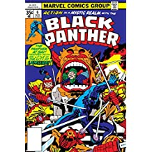Black Panther No.7 Cover: Black Panther Charging Poster by Jack Kirby 24 x 36in
