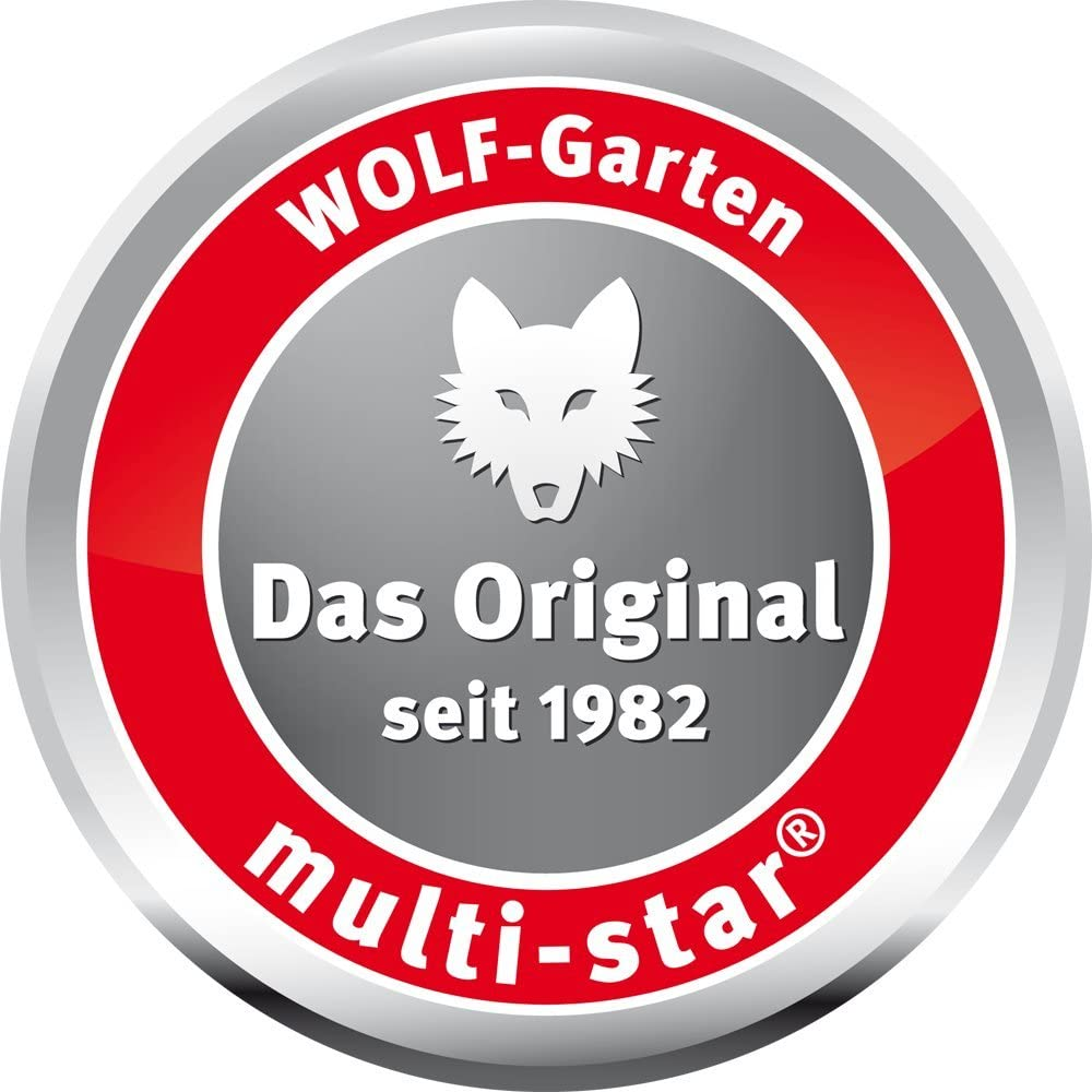 Wolf Garten ZMV4 Multi-Change Telescopic Handle Extends from 220-400cm