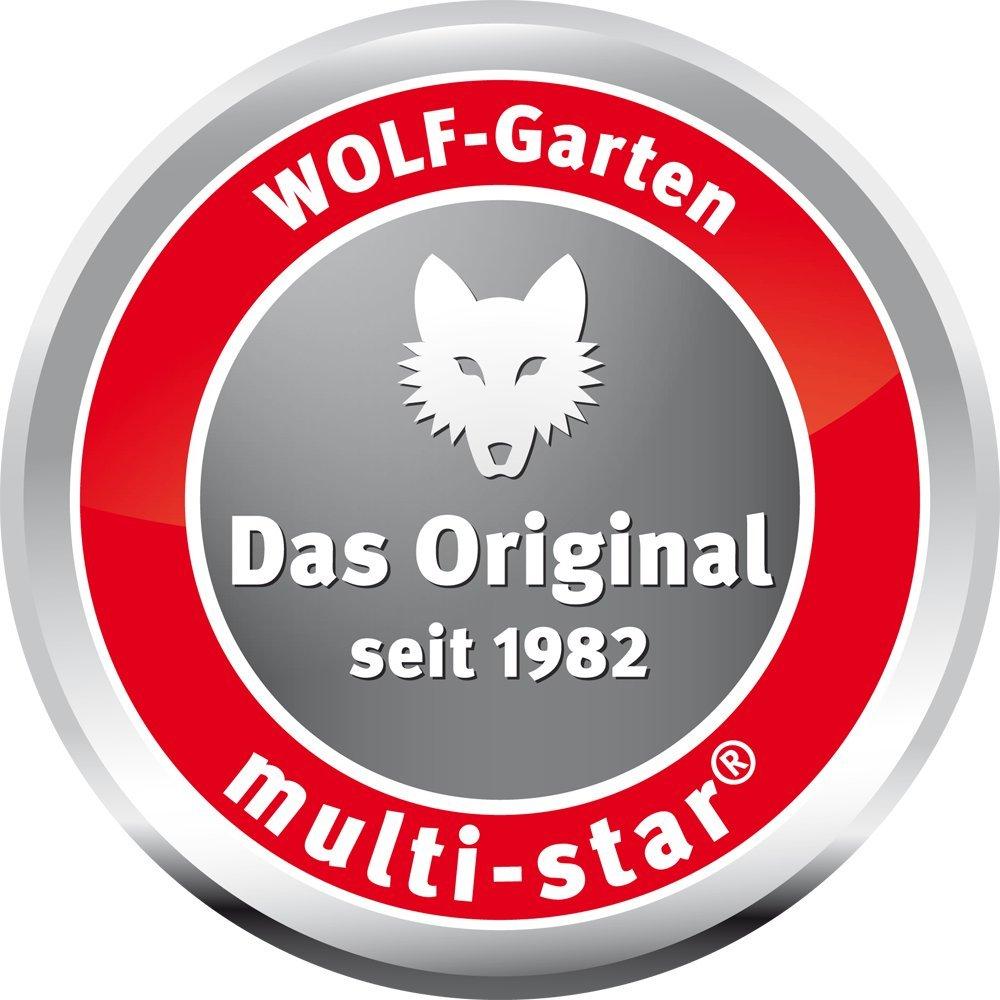 WOLF Garten Multi Star Ersatzbürsten Set Austauschbarer Bürstenkopf Original Neu