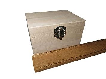 FILORO - Cajas de madera para decorar recuerdos de Deco, tamaño pequeño, grande,