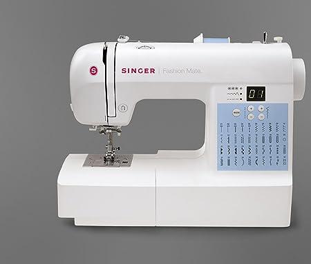 TCM Tchibo/de la máquina de coser singer de moda de mate 7140 ...
