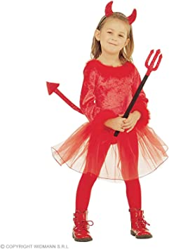 WIDMANN Widman - Disfraz de diablo infantil (3679D): Amazon.es ...