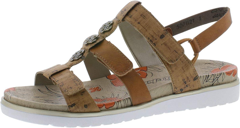 Rieker Damen Sandalette: : Schuhe & Handtaschen D8Q3Q