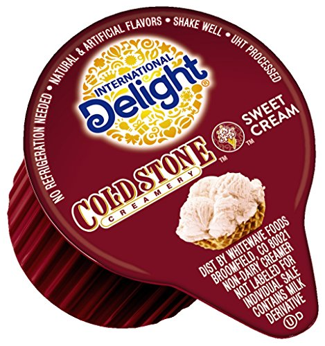 Delight Coffee Cream (International Delight Cold Stone Creamery Sweet Cream Single-Serve Coffee Creamers Singles, 288 count)