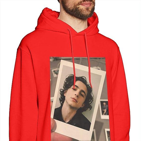 ZEMIOF Timothee Chalamet Hoodie for Mens Womens Timothee Chalamet Sweatshirt for Mens Womens