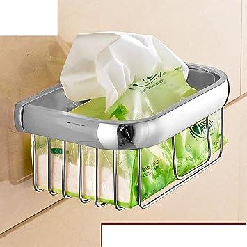 Cuarto de baño toallero/titular de papel higiénico/canasta pequeña toalla/canasta de almacenamiento de baño-A: Amazon.es: Bricolaje y herramientas
