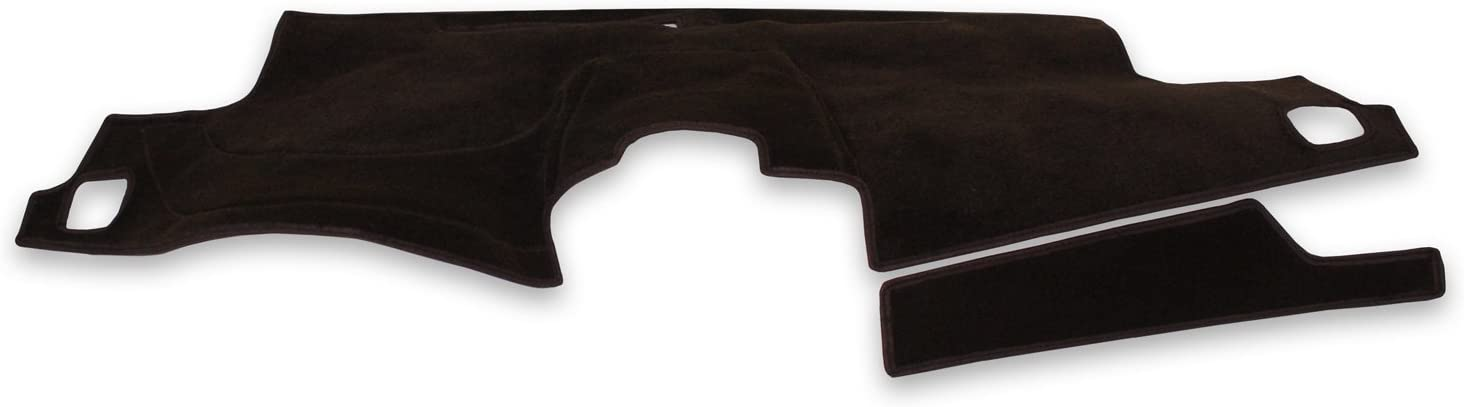 Poly Carpet Black Coverking Custom Fit Dashcovers for Select Toyota Solara Models
