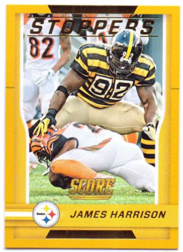 James Harrison 2016 Score Stoppers Gold #9 - Pittsburgh Steelers