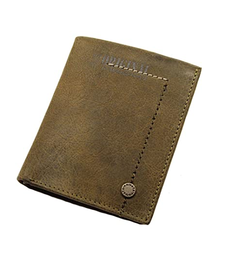 PRIVATA-Cartera billetera en Piel para Hombre.