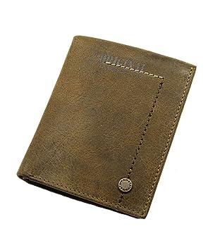 afe5f06bf PRIVATA-Cartera billetera en Piel para Hombre.: Amazon.es: Equipaje