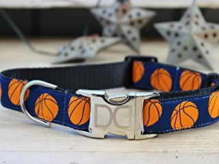 product image for Diva Dogs UBS20 Basketball Dog Collar - Extra Large Sized