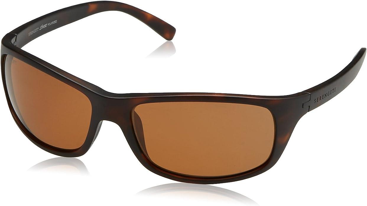 86552e57ef SERENGETI Bormio Gafas, Unisex Adulto, marrón (Satin Dark Tortoise), M