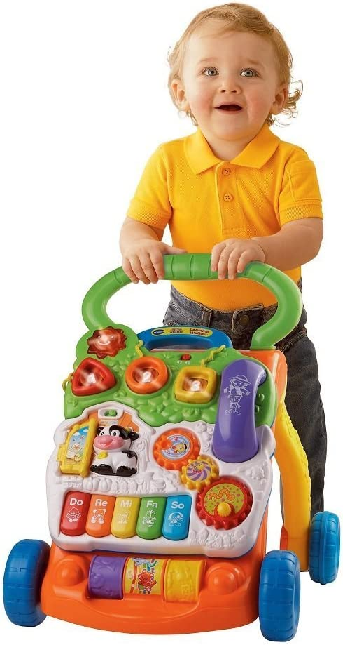 VTech Sit-to-Stand Learning Walker Frustration Free Packaging