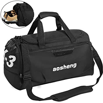 CGBOOM Gym Bag Travel Duffles Bag with Separate Shoe Compartment ... 0d191db95ab88