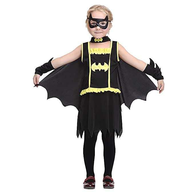 Batgirl Costumes Kids Children DC Superheroes Deluxe Dress by OteRanLin  sc 1 st  Amazon.com : amazon costumes kids  - Germanpascual.Com