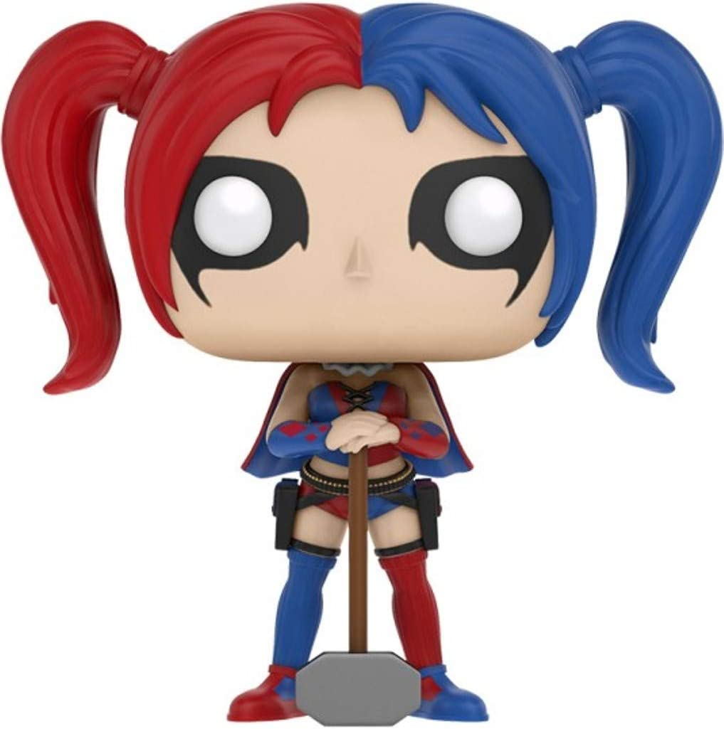 Amazon Com Funko Pop Heroes Harley Quinn Hot Topic Exclusive 121 Toys Games