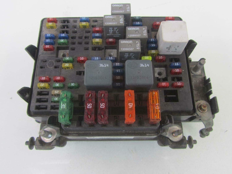 Morad Parts 01-02 Chevy Silverado Avalanche Engine Fuse Box Junction 6.0  6.0L 15328806-05 [ 1125 x 1500 Pixel ]