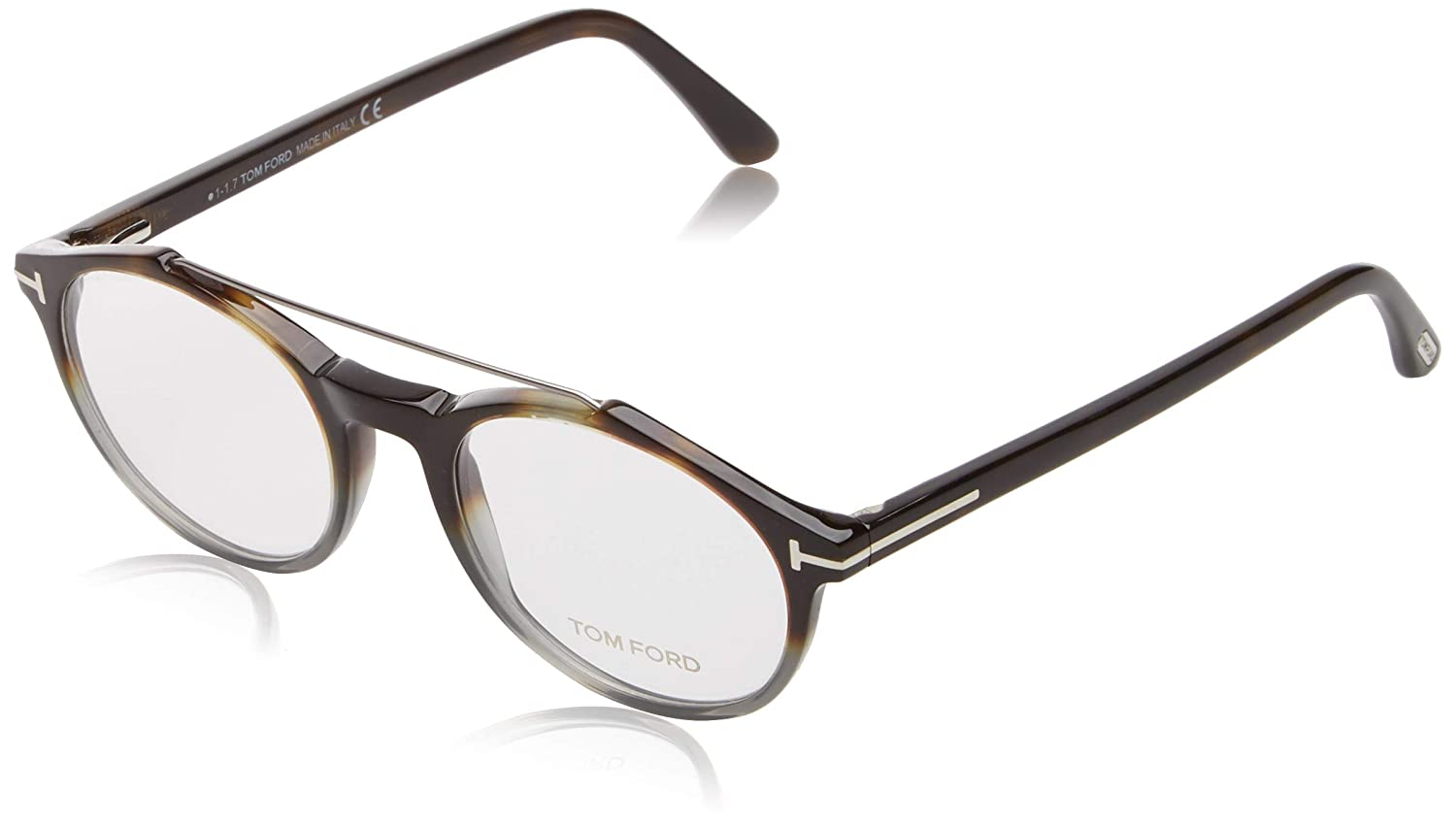 9dad77d9991 Eyeglasses Tom Ford FT 5455 055 coloured havana at Amazon Men s Clothing  store
