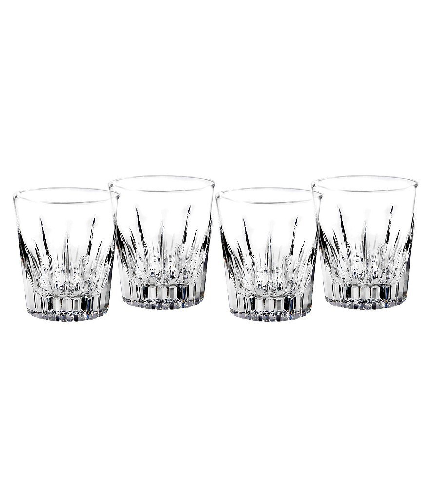 Southbridge Set of 4 Double Old Fashion Glasses by Waterford