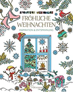 Creative Haven Christmas Trees Coloring Book Amazonde Barbara
