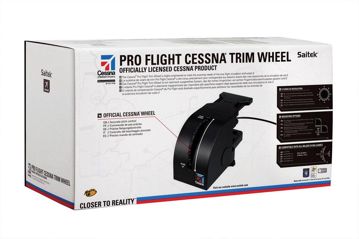 Amazon in: Buy Saitek Pro Flight Cessna Trim Wheel for PC Online at