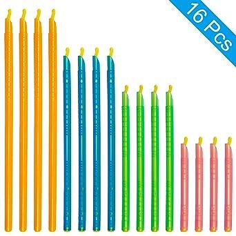 Amazon.com: [16 piezas] Magic Bag Sealer Stick, Chip Clips ...