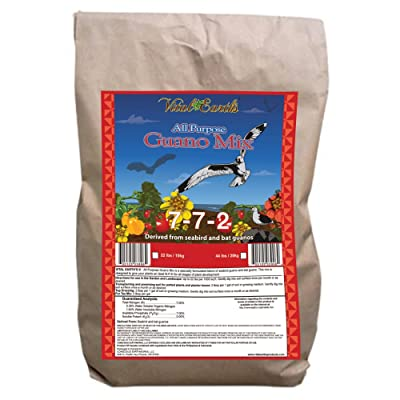 Vital Earth's Guano Mix 7-7-2, 22-Pound Bag