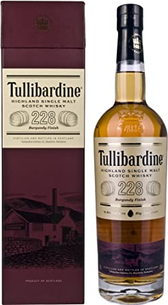 Tullibardine Burgundy Finish Whisky - 1 x 0.7 l