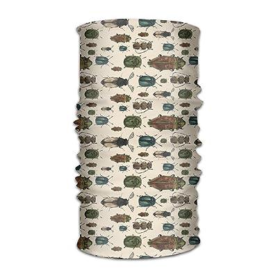Unisex Different Species Of Beetles Multifunctional Bandanas Sweatband Elastic Turban Headwear Headscarf Beanie Kerchief