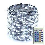 Best Outside Plug In Lights - ER CHEN(TM) Gorgeous String Lights,165Ft 500 LEDs Silver Review