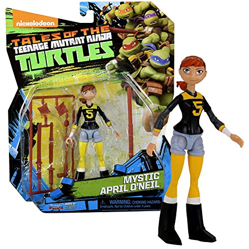 Playmates Year 2017 Tales of the Teenage Mutant Ninja Turtles TMNT Series 5 Inch Tall Figure - MYSTIC APRIL O'NEIL with Variety of Weapons ()