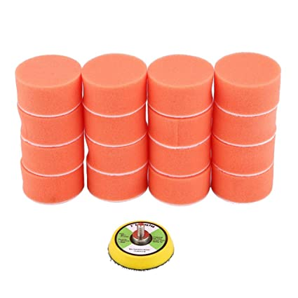 beler 60pcs 1 25mm Mixed Sponge Buffing Waxing Polishing Care Cleaning Pads