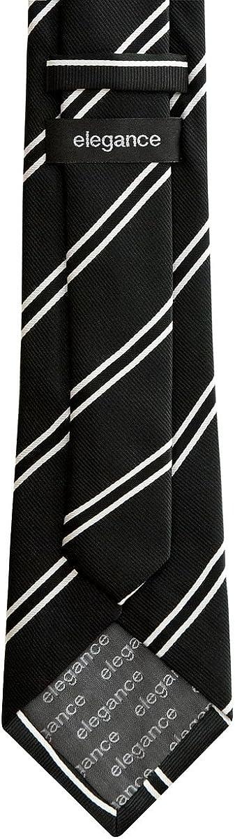 tejido de microfibra de 8/cm de ancho Corbata con dise/ño a rayas de la marca Retreez varios colores