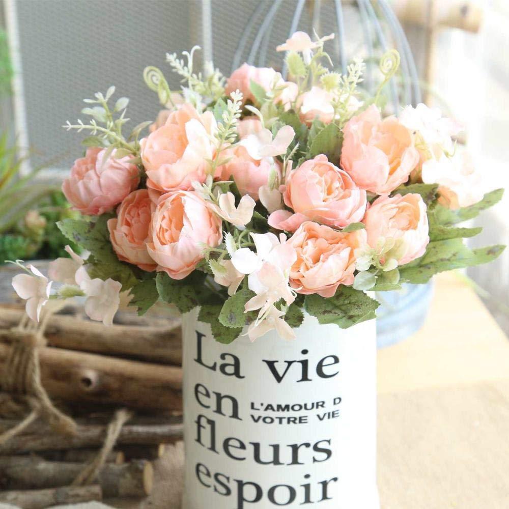 Kunstliche Blumen Unechte Deko Blumen Tischdeko Hochzeit Mini