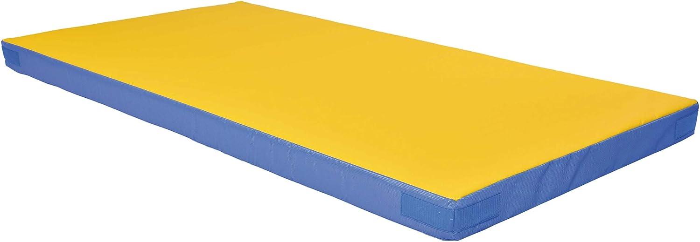 /Colchoneta de gimnasia Grevinga Fun/ RG 22, muy suave, con esquinas de velcro