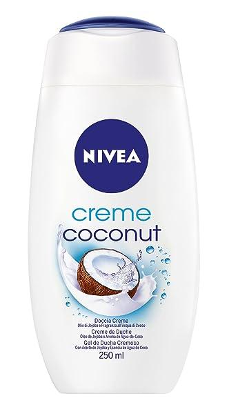 Amazon.com   Nivea Creme Coconut Cream Shower Gel 250 ml   8.3 fl oz    Beauty 159fceb0be70