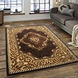 Allstar 5 X 7 Chocolate with Berber Woven Floral Traditional Printed Area Rug (5′ 2″ X 7′ 2″) Review