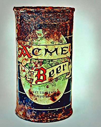 40s Solid Wood - Urban Natural Designs Acme Beer Circa 1940s Original Handmade Artwork Solid Wood