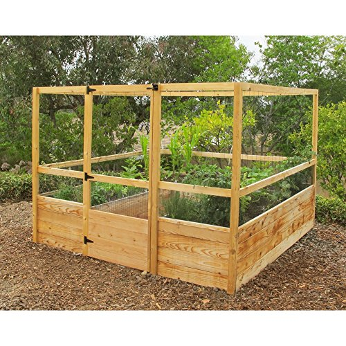 Gardens to Gro 8 x 8 ft. Deer-Proof Vegetable Garden Kit