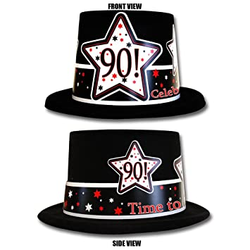 Amazon 90TH BIRTHDAY TIME TO CELEBRATE TOP HAT EACH Health