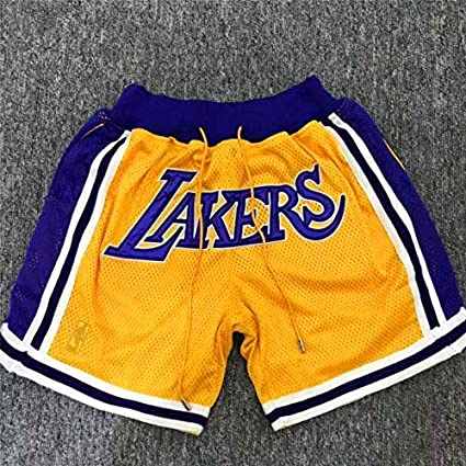 Lalagofe Los Angeles Lakers, Just Don Shorts, Pantaloncini